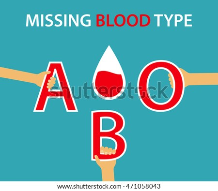 missing blood type   the