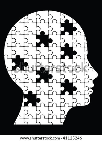 missing pieces puzzle head