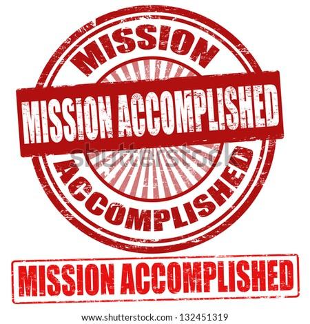 mission accomplished grunge