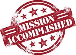 Mission Accomplished Reward Stamp