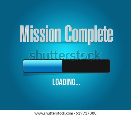 mission complete loading bar