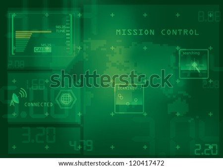 mission control interface hi