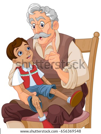 mister geppetto teaches