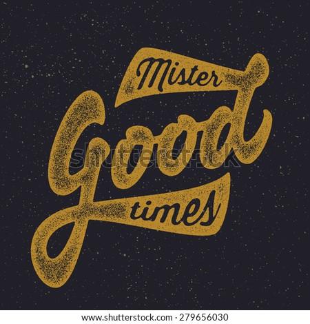 mister good times vintage