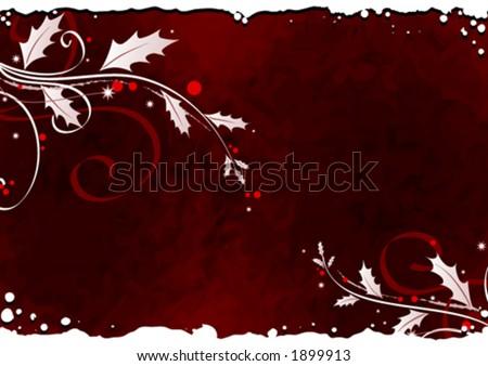 Mistletoe background design