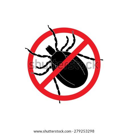 mite warning sign stop