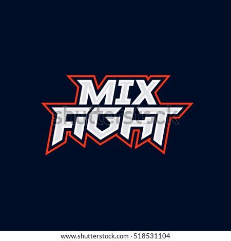 mix fight logo mixed martial