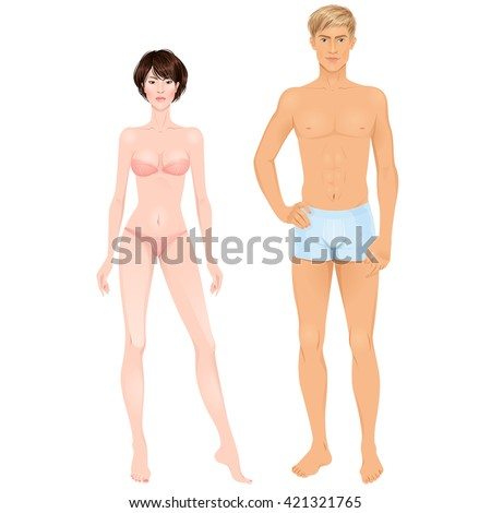 Royalty free boy body parts front and back 318805547 for Paper doll template woman