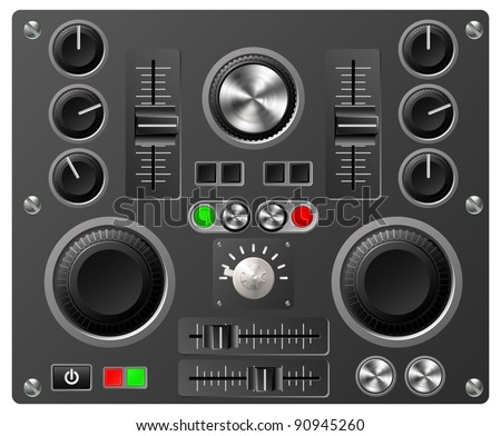mixing desk production sound or