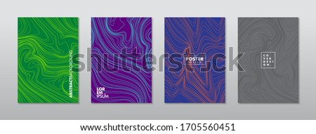 Mixture of acrylic paints. Liquid marble texture. Fluid art. Applicable for design cover, presentation, invitation, flyer, annual report, poster and business card, design packaging. Modern artwork