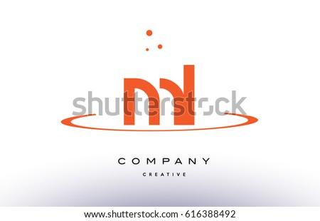 cores do rio ml m l creative orange swoosh dots alphabet company