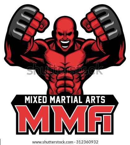mma fighter mascot