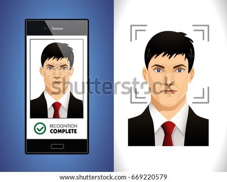 Mobile app - face recognition system