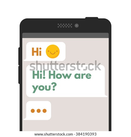 mobile application chat user