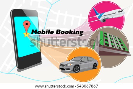 mobile booking  now can booking