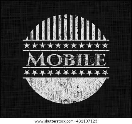 Mobile chalk emblem