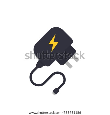 Mobile charger vector illustration Foto stock ©