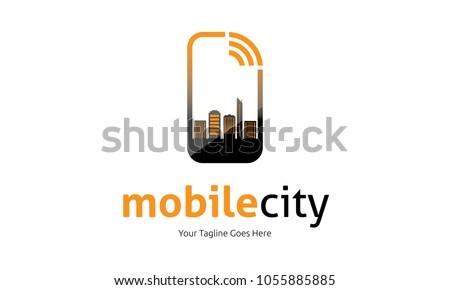 mobile city logo