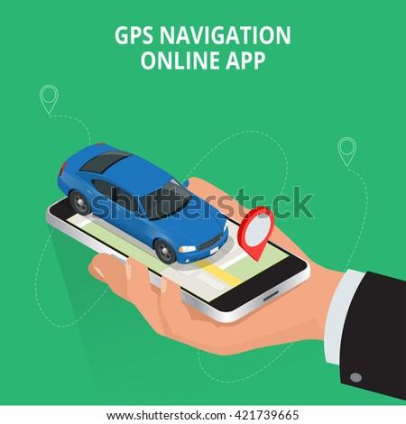 mobile gps navigation  travel