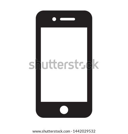 Mobile Handphone Tablet Gadget Icon Vector