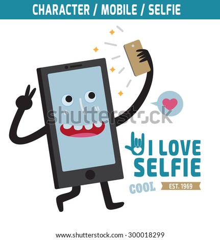 mobile mascot character design