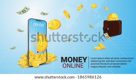 Mobile money transfer using online money.Transfer money to an online wallet via an application.Transfer money across banks through online wallet. Exchanging cryptocurrency through mobile application.