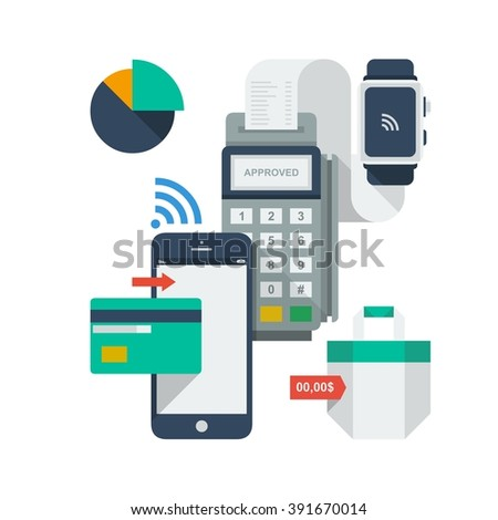 Mobile payment icons
