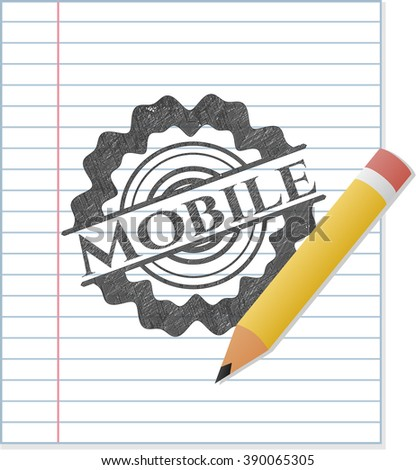 Mobile pencil draw