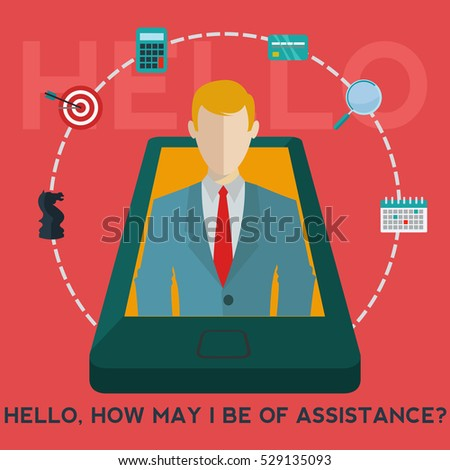 mobile phone business assistant