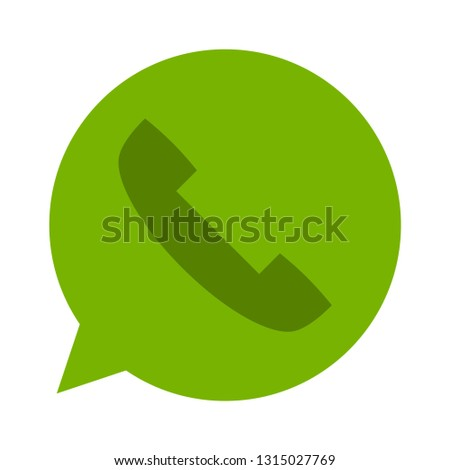 mobile-phone calls icon - mobile-phone calls isolated , talk symbol illustration -Vector mobile