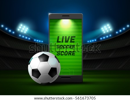 mobile phone football online on