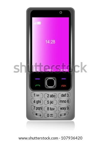 Mobile phone gray