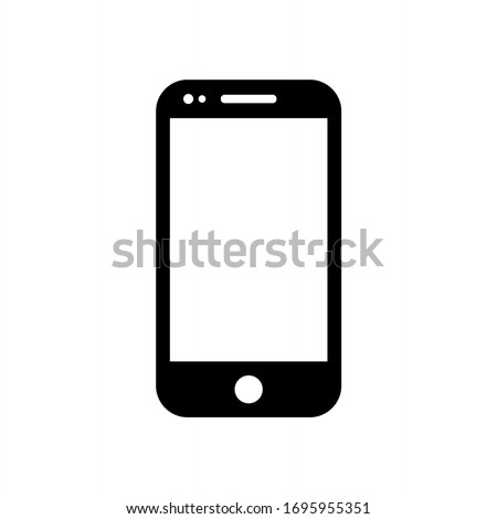 Mobile phone icon, smartphone, phone cell icon vector illustration