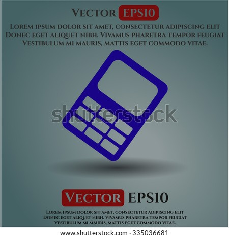 Mobile Phone icon vector illsutration