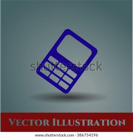 Mobile Phone icon vector illustration