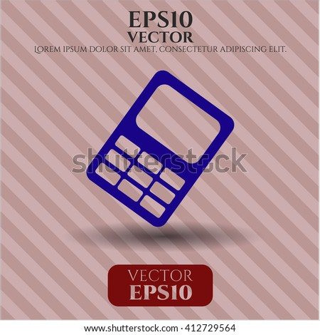 Mobile Phone vector icon or symbol