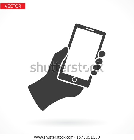 Mobile Phone vector icon template