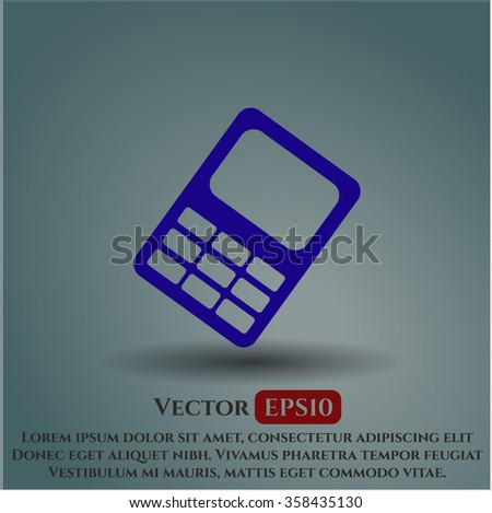 Mobile Phone vector symbol