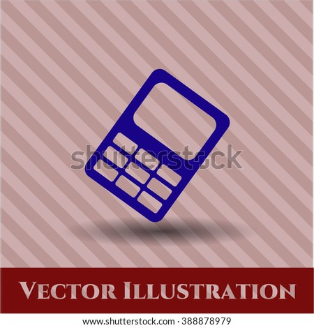 Mobile Phone vector symbol