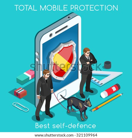 mobile protection palette 3d