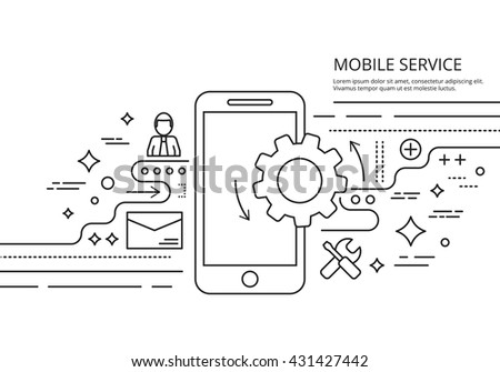 mobile services banner