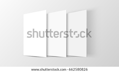 Mock up mobile app interface in 3D front view. Blank app screen. Horizontal aspect ratio in white color tone created by vector easy to use for user interface and user experience design.