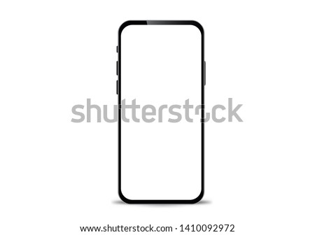 mockup in front of a black