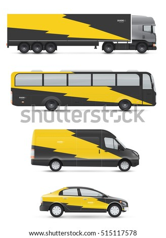 mockup vehicles for advertising