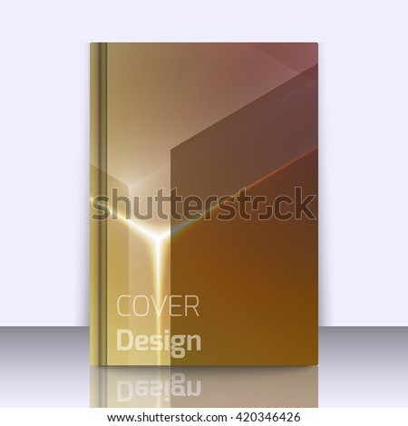 Mockup with stylish colorful background with soft gradients and lines. Background texture with blurred and geometrical shapes. Abstract background for apps, presentations or corporate use.