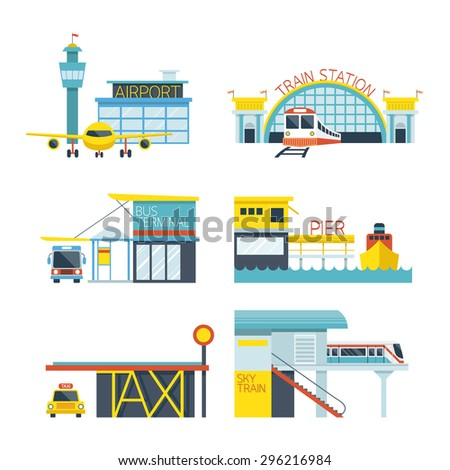 mode of transport illustration