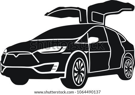 model x  car
