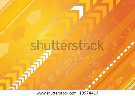 Modern abstract background with arrows-vector file