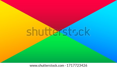 Modern abstract colorful background. Juicy background. Social media concept. Vector illustration