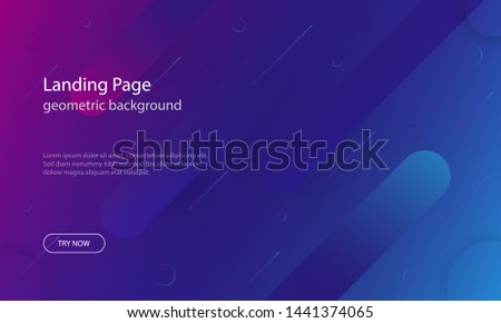 Modern abstract colorful vector background. #1441374065